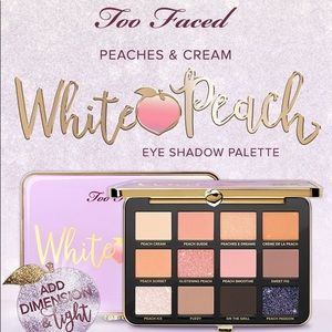 Too faced white peach pallet